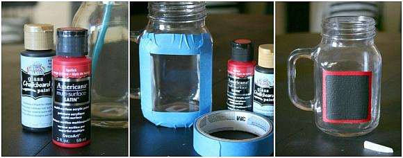 Chalkboard Mason Jar Picture 2