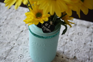 Mason Jar Flowers for Mother's Day