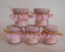 Mini Mason Jar Candles Wedding Favors