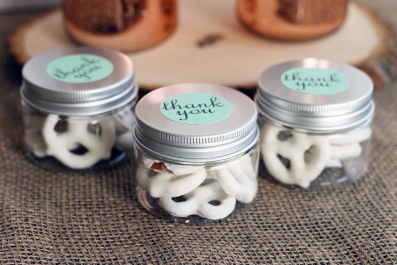 Mini Mason Jars Wedding Favor A Myriad