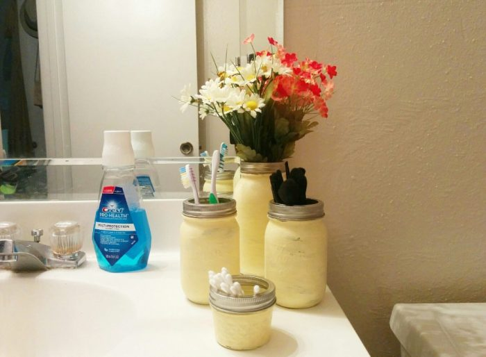 Mason Jar Bathroom Set Picture 3