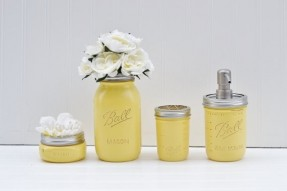 Yellow Bathroom Accessories 4k Wallpapers Design