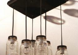 DIY Mason Jar Kitchen Lights