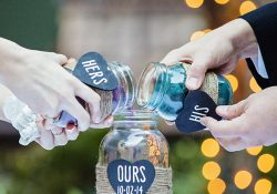Mason Jars for Wedding Sand Ceremony