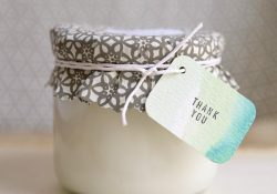 Simple DIY Mason Jar Bridal Shower Favors