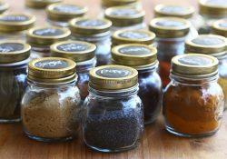 Easy Mason Jar Spice Rack Tutorial