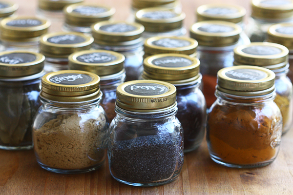 Mason Jar Spice Rack Picture 4