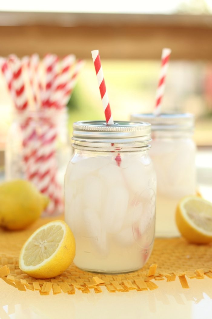 Mason Jar Sippy Cups With Straws
